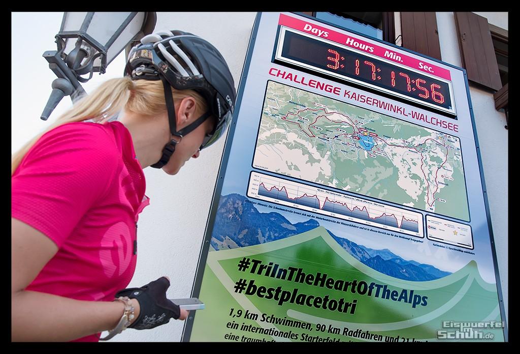 Radsporturlaub im Kaiserwinkl Challenge Walchsee Strecken Check