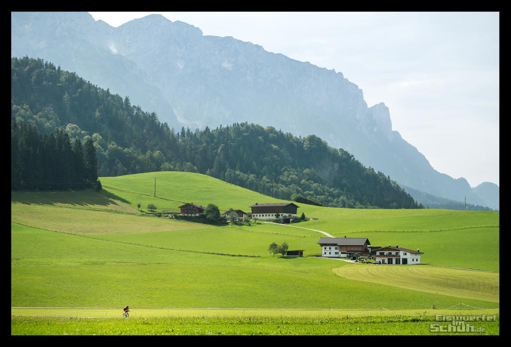 Radsporturlaub im Kaiserwinkl Reisebericht mit Landschaftsaufnahme