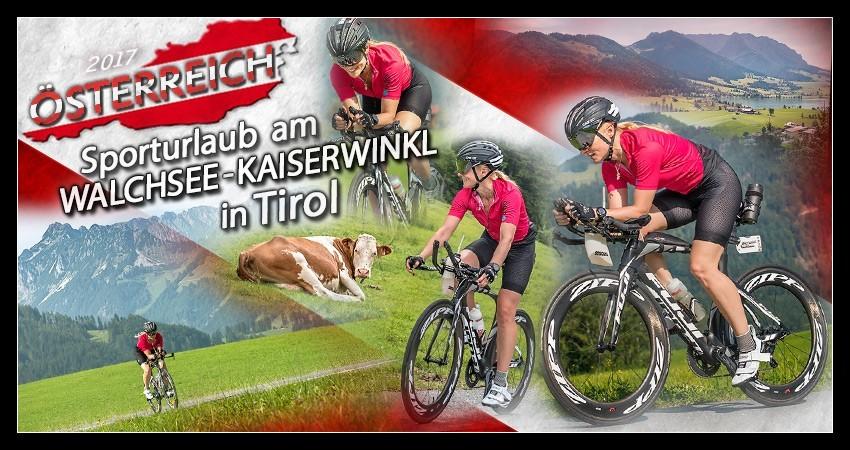 Radsporturlaub im Kaiserwinkl Tirol am Walchsee