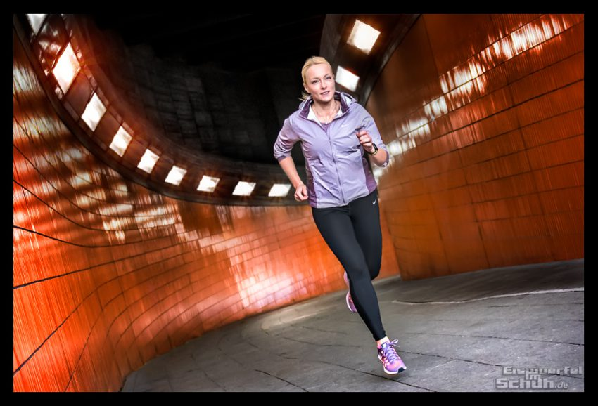 Apple Watch Series 2 Nike+ Berlin Messegelände Tunnel