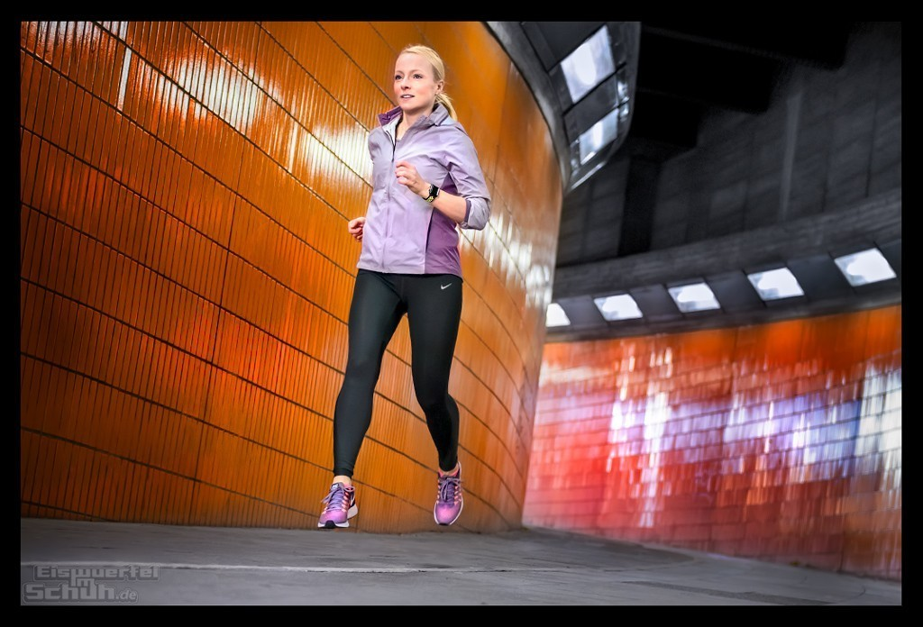 Apple Watch Series 2 Nike+ Berlin Messegelände Tunnel