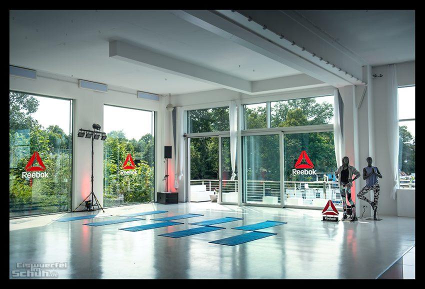 Reebok Summer Vibes Yoga mit Anna Kleb