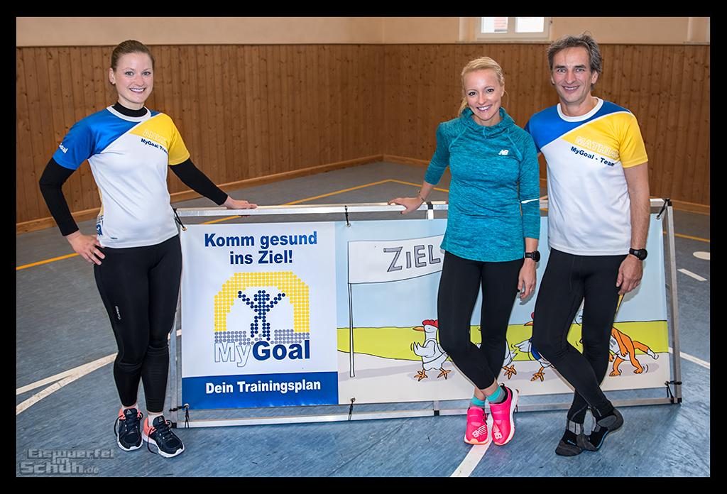 Das MyGoal Team Seminar Verletzungsfrei laufen - Techniktraining für Läufer Stabilisation