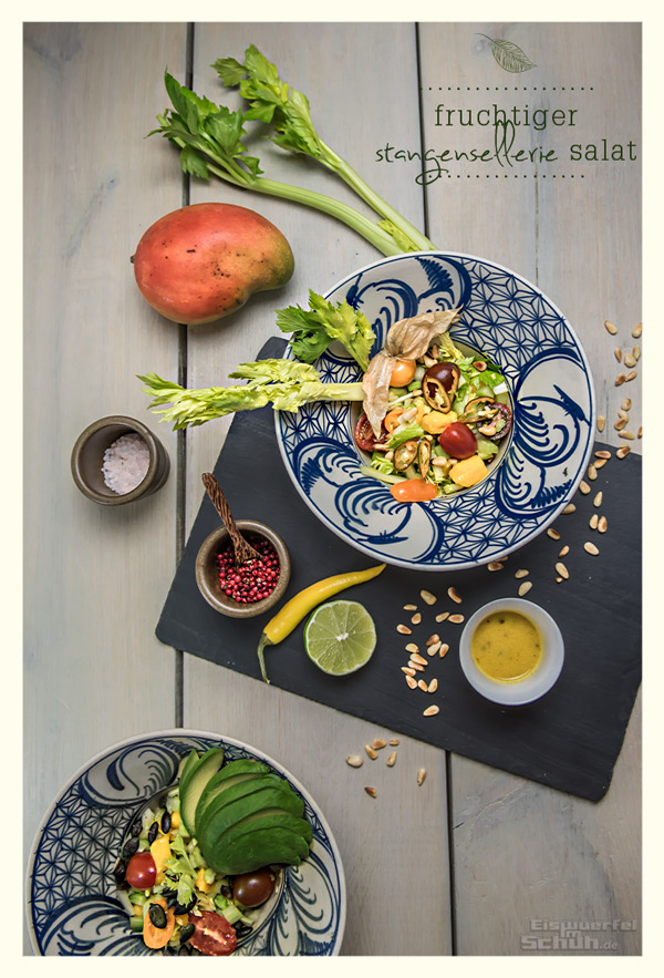 sellerie salat mit mango limetten chili dressing rezept. Black Bedroom Furniture Sets. Home Design Ideas