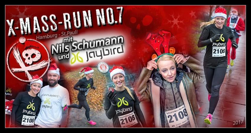 St Pauli X-Mass-Run Hamburg Laufblogger Jaybird