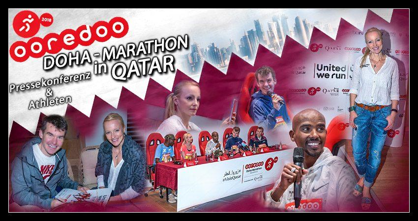 Doha Marathon: Pressekonferenz & Athletentreffen