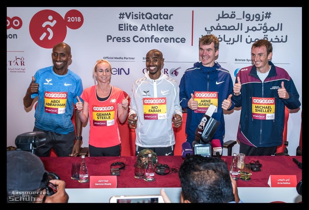 Doha Marathon Qatar Mo Farah Arne Gabius