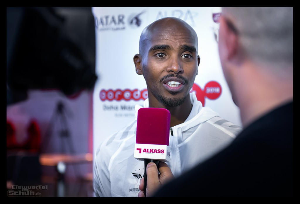 Doha Marathon Mo Farah Interview