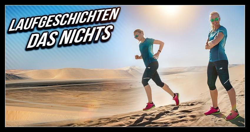 Läuferin in der Wüste