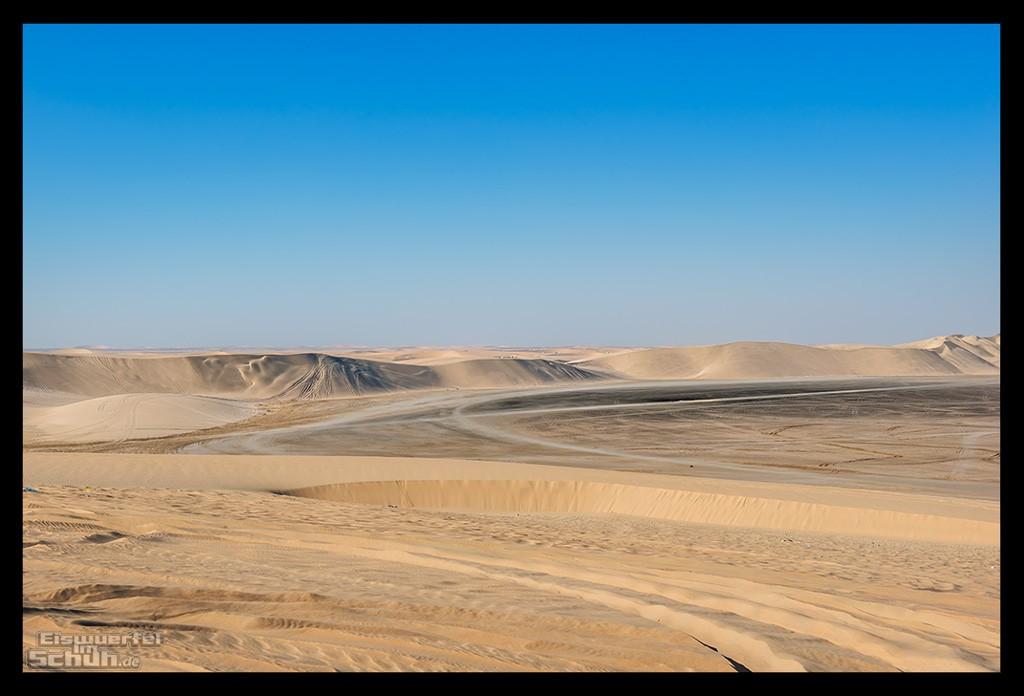 Die Wüste von Katar