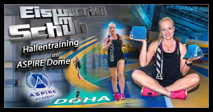 Hallentraining Leichtathletik Din von EiswuerfelImSchuh Blog Header