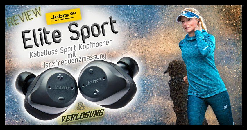 Jabra Elite Sport – Kabellose In-Ear Kopfhörer & Fitness Coach (Test) + Gewinnspiel