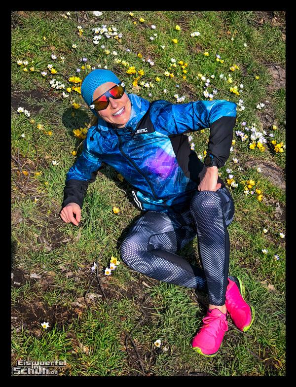 Laufen im Frühling mit Gloryfy EISWUERFELIMSCHUH