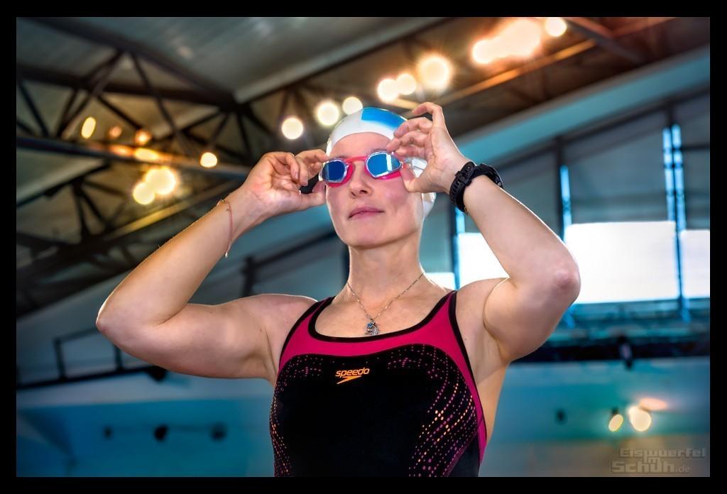 Triathlon Training Schwimmen mit Speedo
