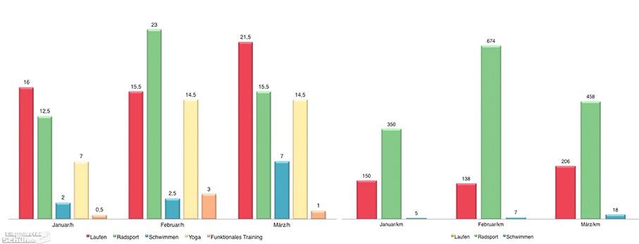 Training Auswertung Grafik