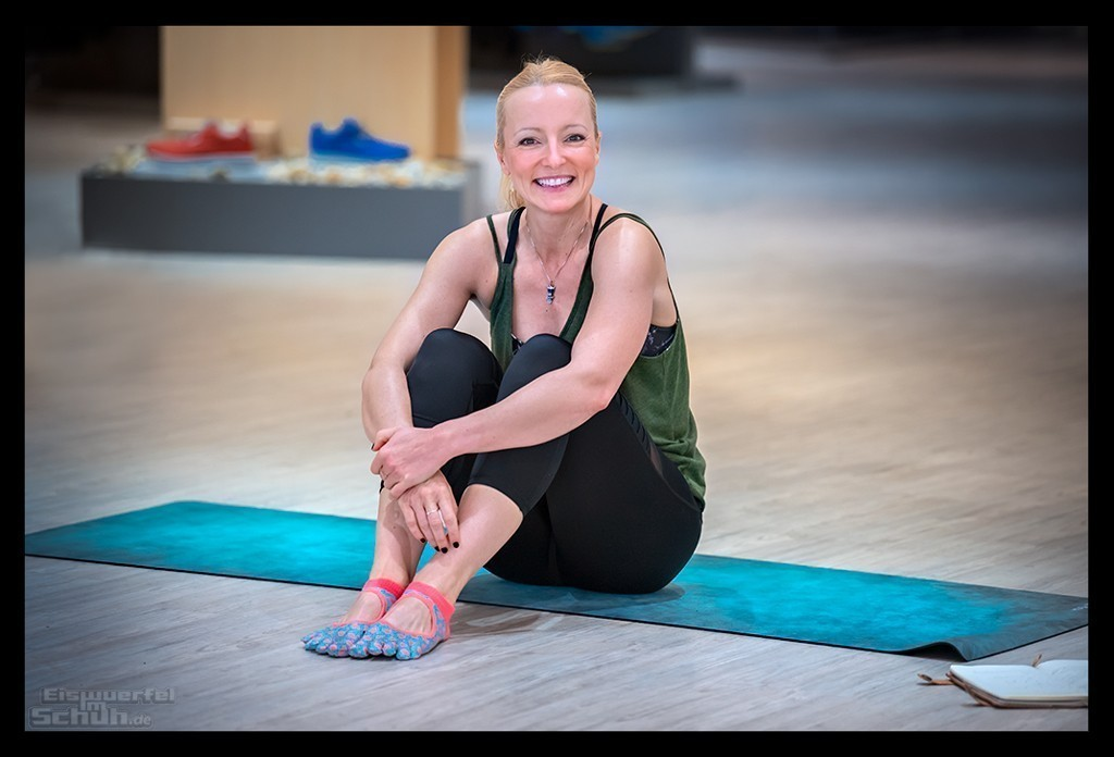 Yoga als Ergänzung zum Triathlon Training mit Nadin von Eiswuerfelimschuh.de