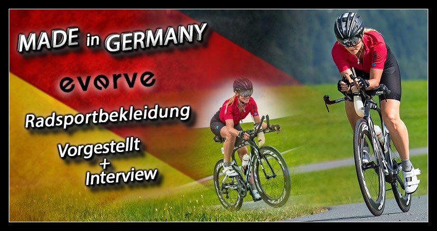 Made in: Deutschland – das Radsportbekleidungsunternehmen everve