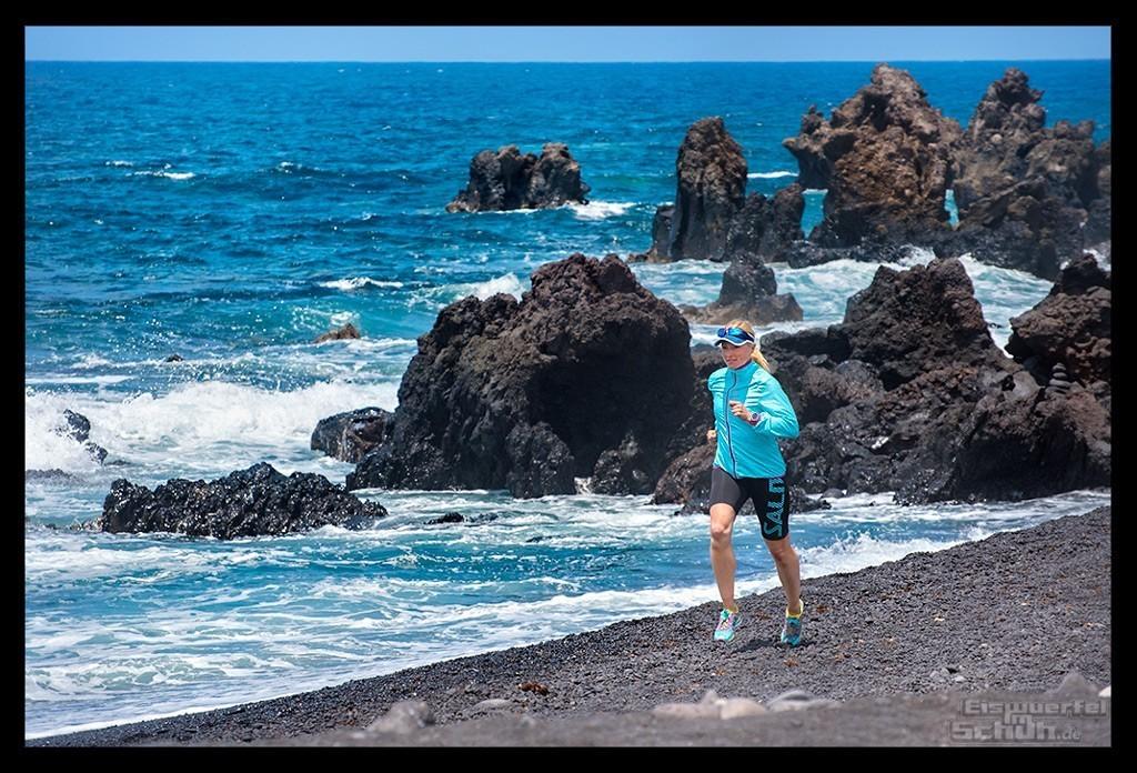 Laufgeschichten Lauftraining auf Lanzarote Kieselsteine