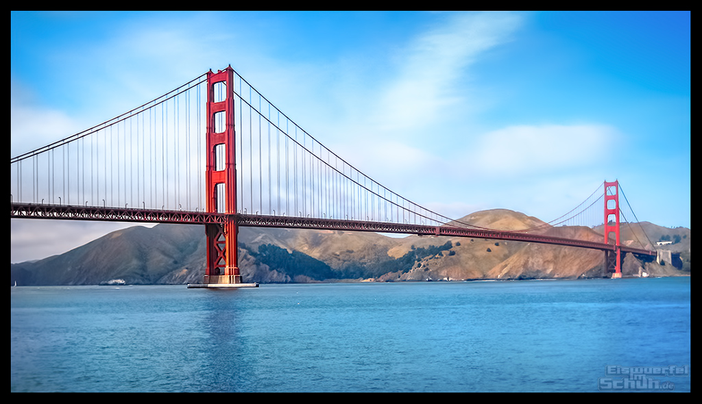 Golden Gate Bridge San Francisco Reise Blog