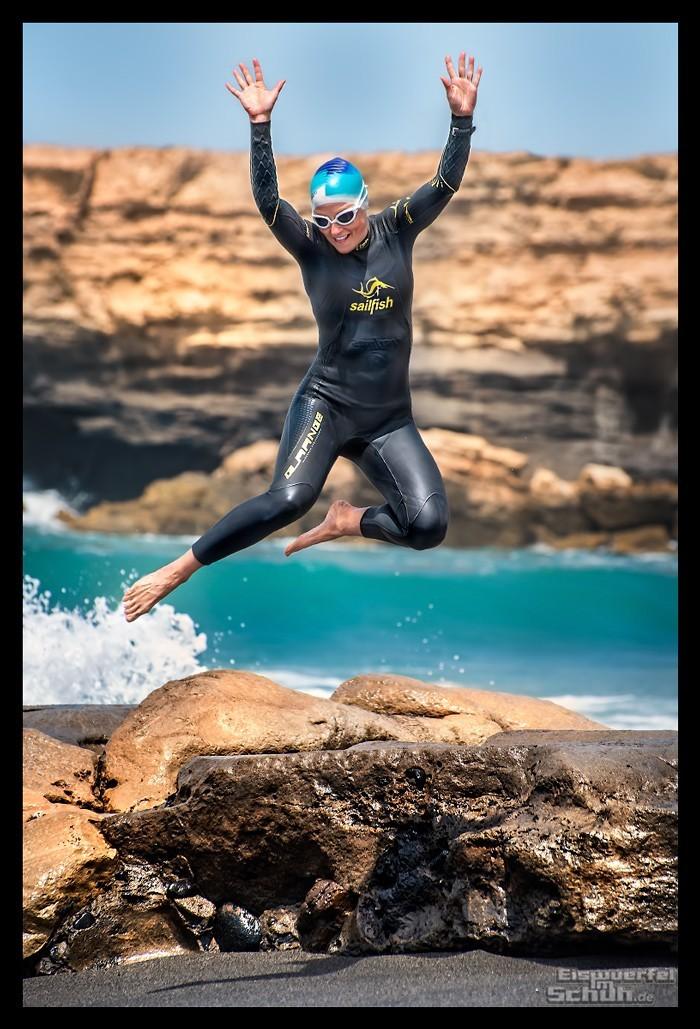 Triathlon Saisonplanung Sprung ins kalte Wasser im Ozean