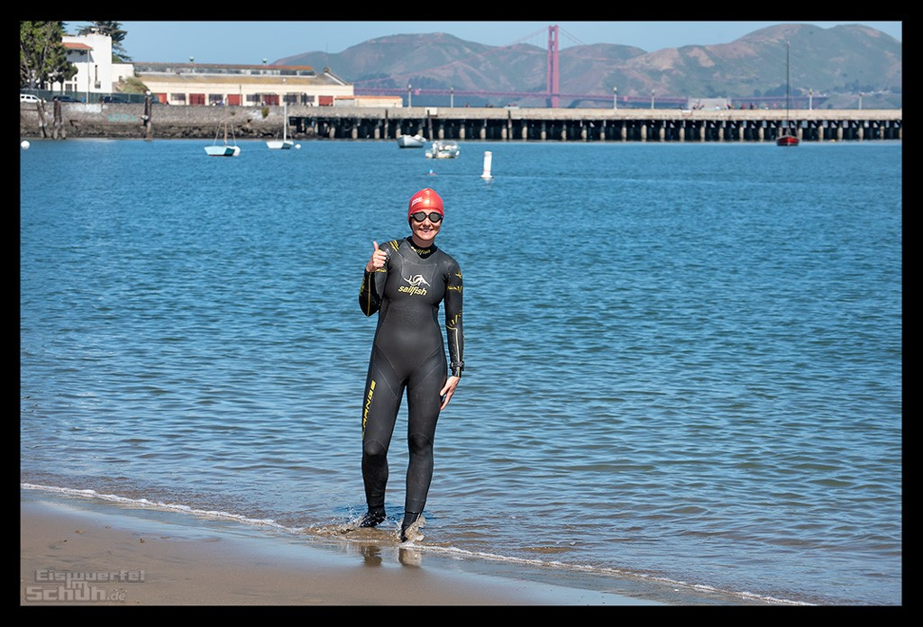 Escape from Alcatraz Triathlon Training Schwimmen Blog