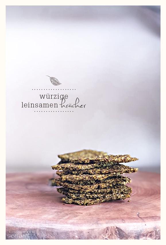 Leinsamen-Kräcker Rezept