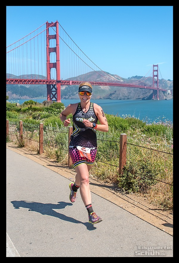 Escape From Alcatraz Triathlon Golden Gate Bridge