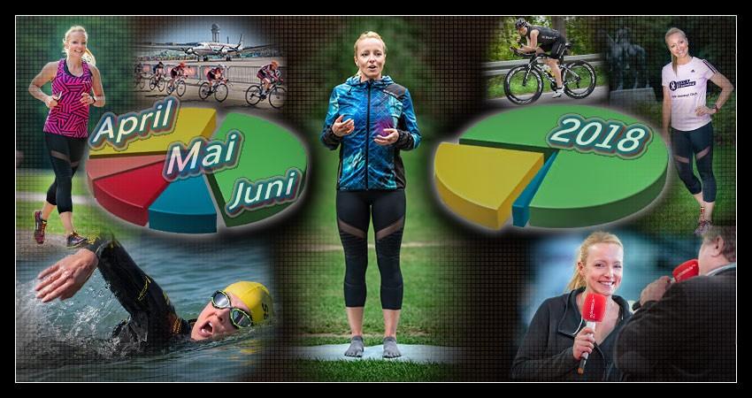 Triathlon Trainingszusammenfassung EiswuerfelImSchuh