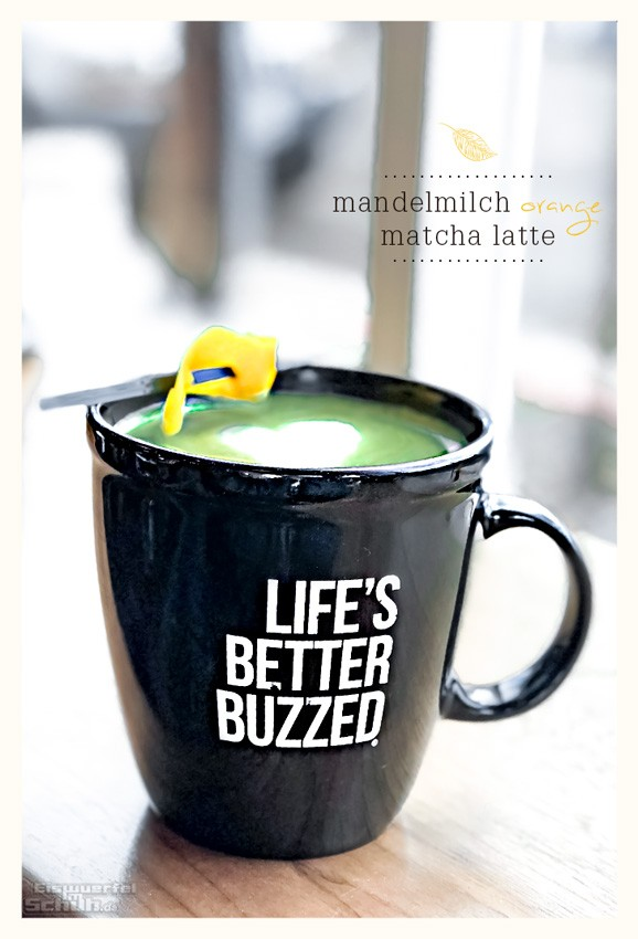 Orange Matcha Latte