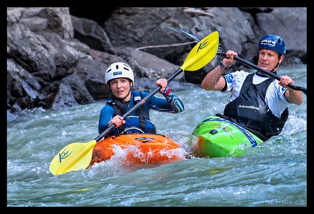 Red Bull Dolomitenmann Strecke Wildwasserkajak
