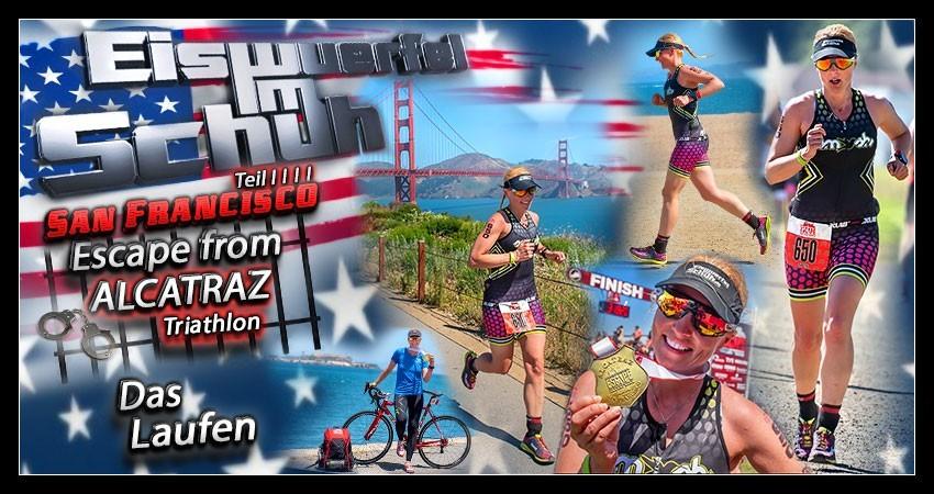 Escape from Alcatraz Triathlon Collage