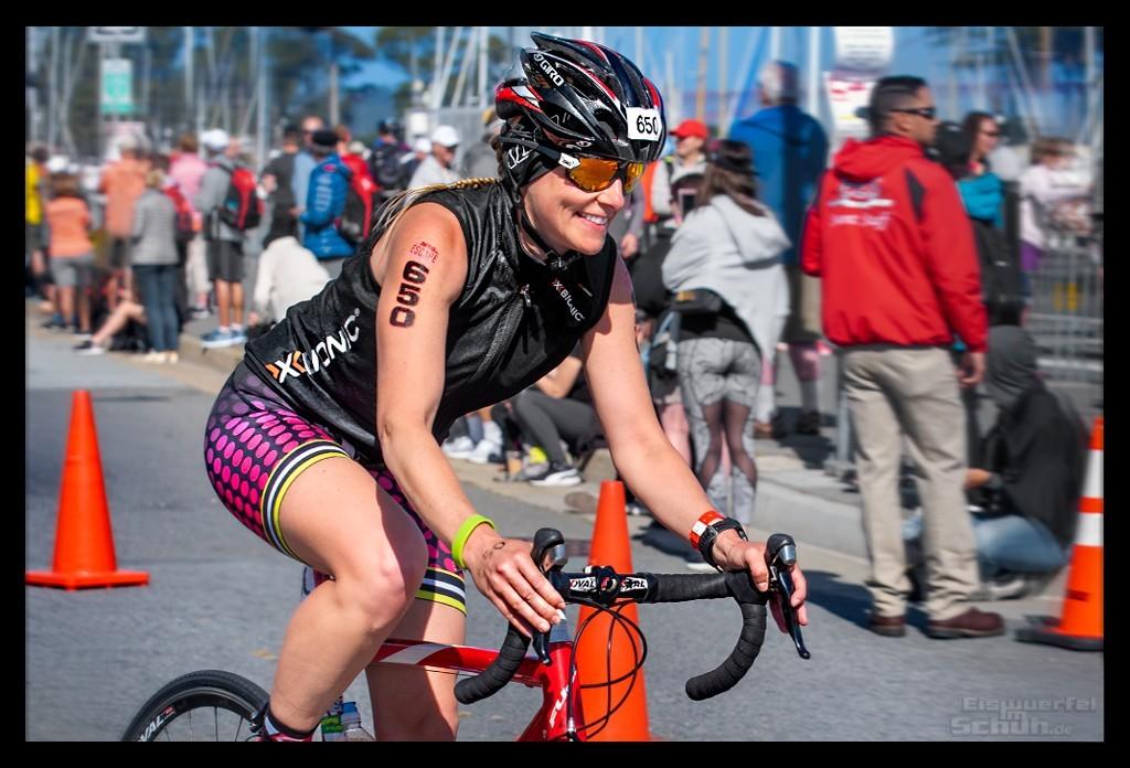 Die Radstrecke des Escape from Alcatraz Triathlon