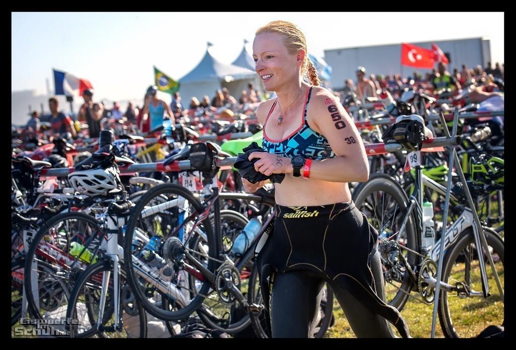 Escape from Alcatraz Triathlon Wechselbereich