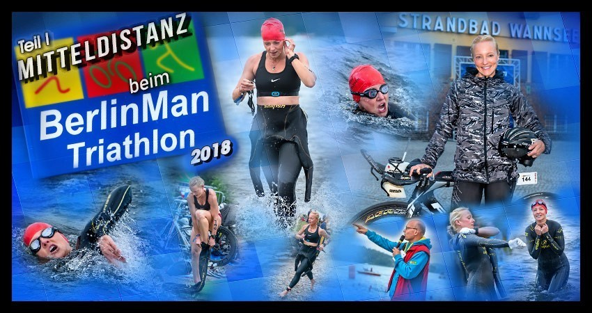 BerlinMan Triathlon 2018 Banner
