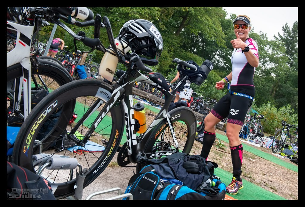 BerlinMan Triathlon 2018 Wechselzone