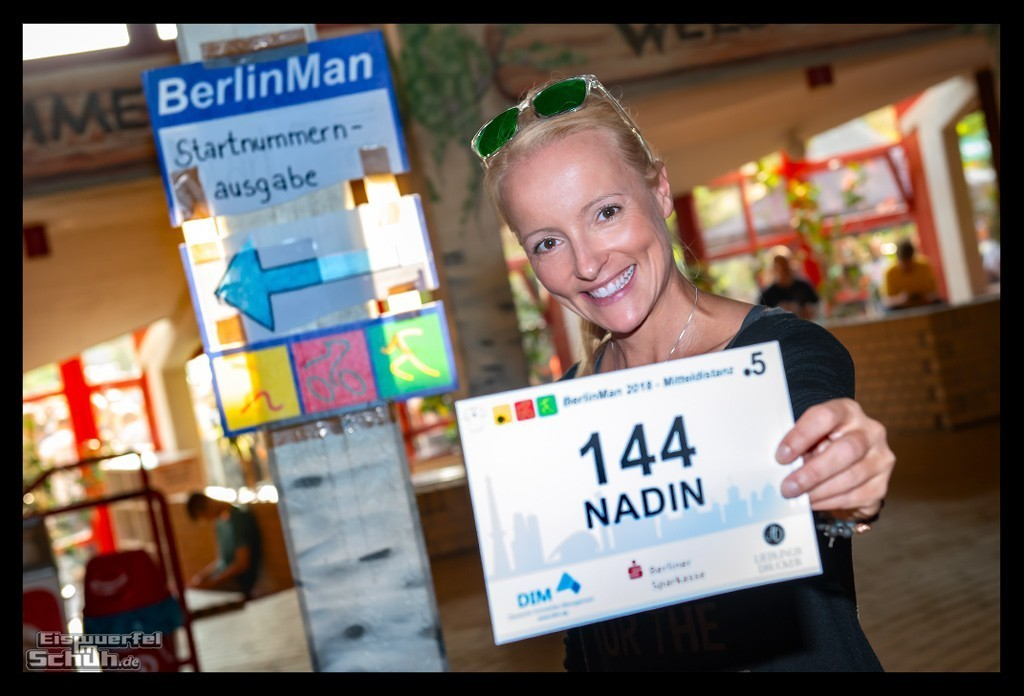 BerlinMan 2018 Startnummer