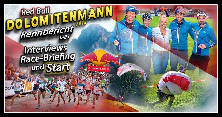 Red Bull Dolomitenmann 2018 Rennbericht Collage