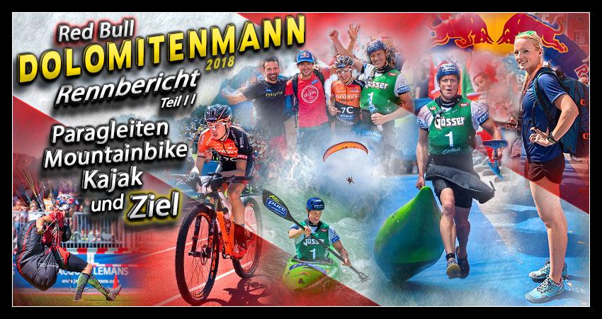 Red Bull Dolomitenmann 2018 Collage