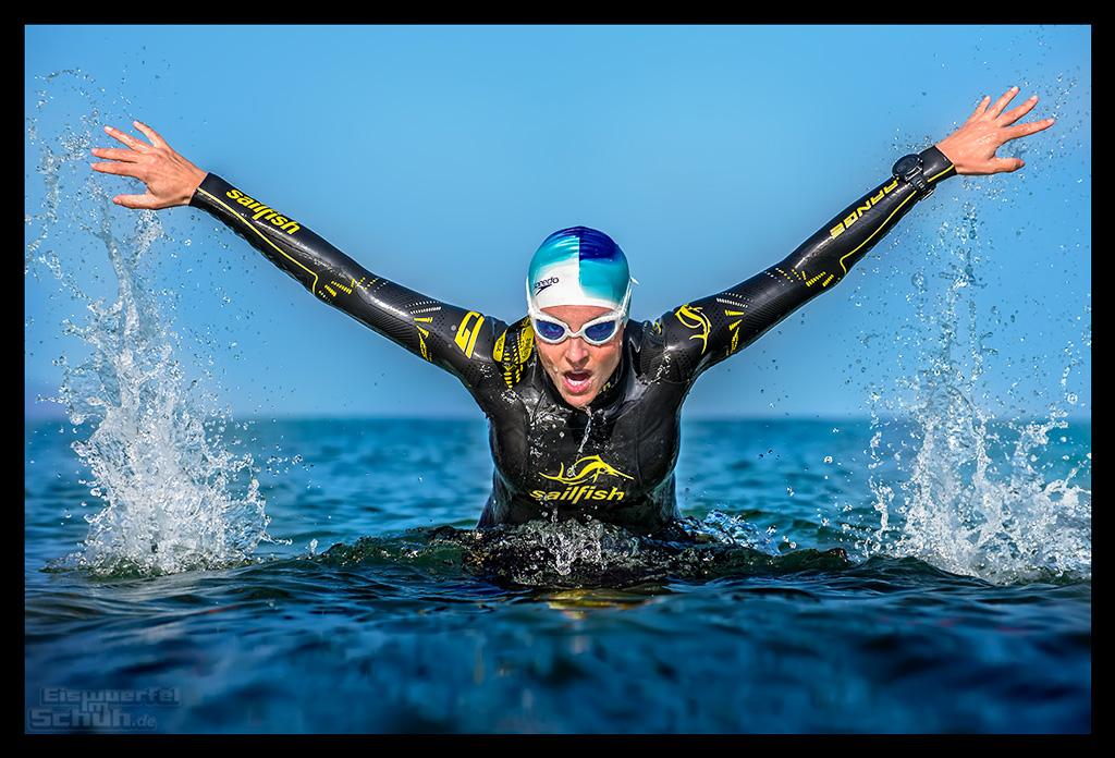 Ironman Florida 2018 Schwimmen mit Sailfish Neoprenanzug