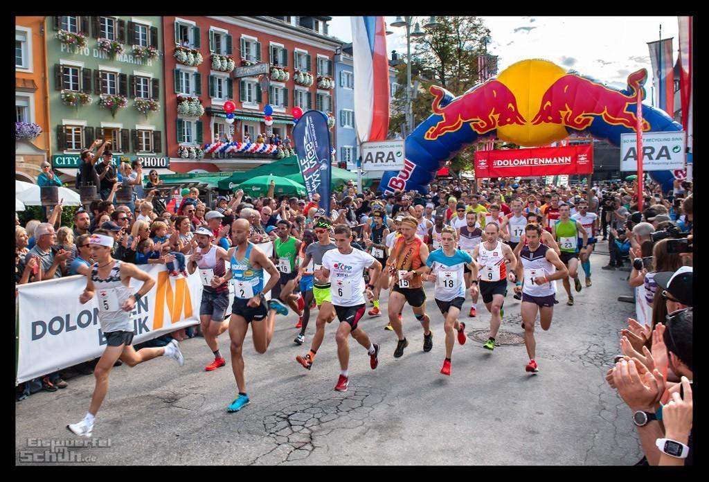 Red Bull Dolomitenmann 2018 Start der Laufstrecke Lienzer Hauptplatz