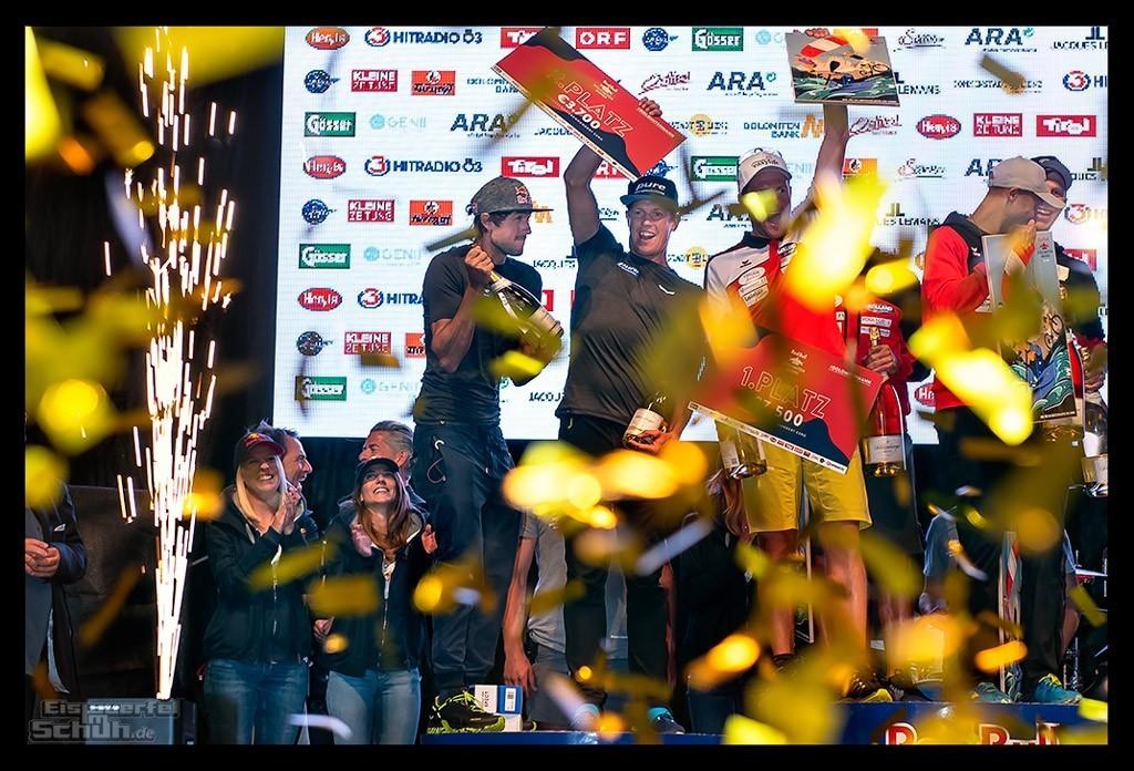 Red Bull Dolomitenmann 2018 Siegerehrung