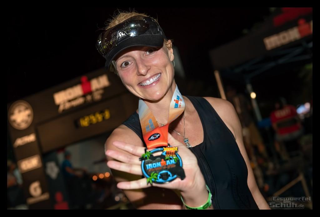 Ironman Florida Langdistanz Finisher Medaille EiswuerfelImSchuh