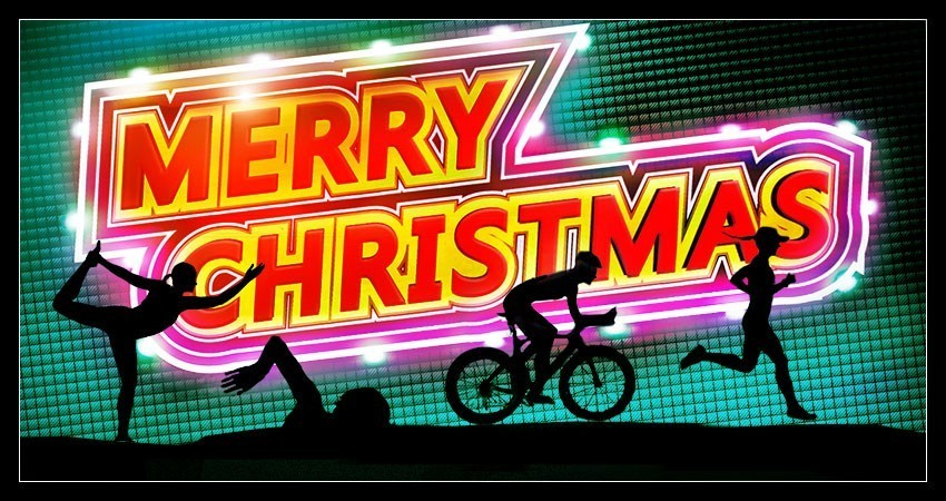 Weihnachten Banner EiswuerfelImSchuh Triathlon Blog