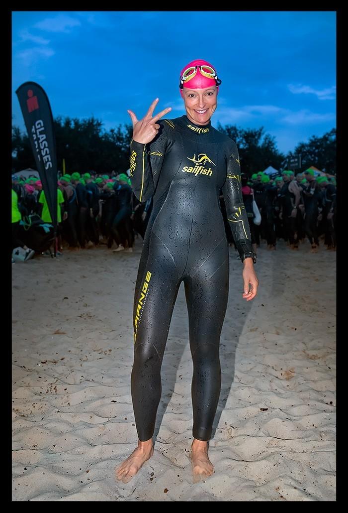 Ironman Florida 2018 Schwimmen Haines City