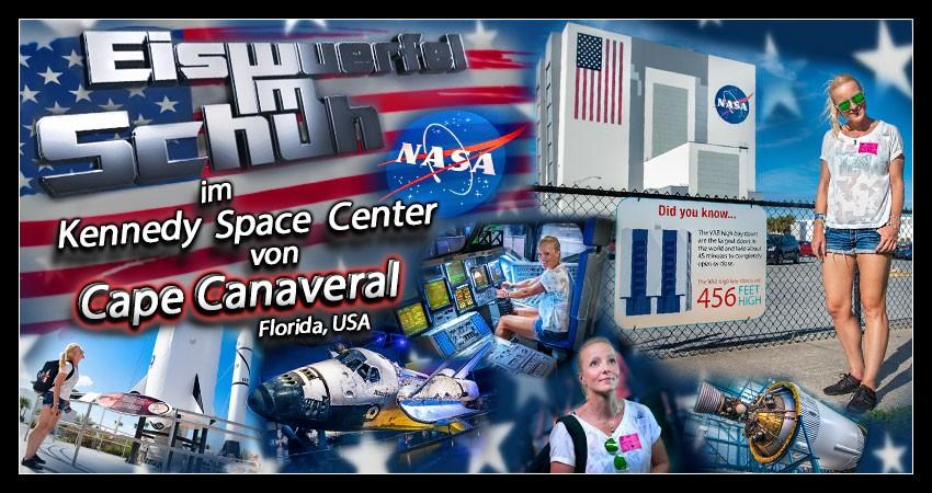 Kennedy Space Center Reisebericht Collage