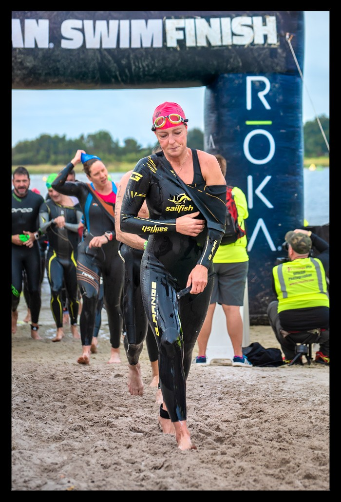 Ironman Florida 2018 Swim Finish Haines City