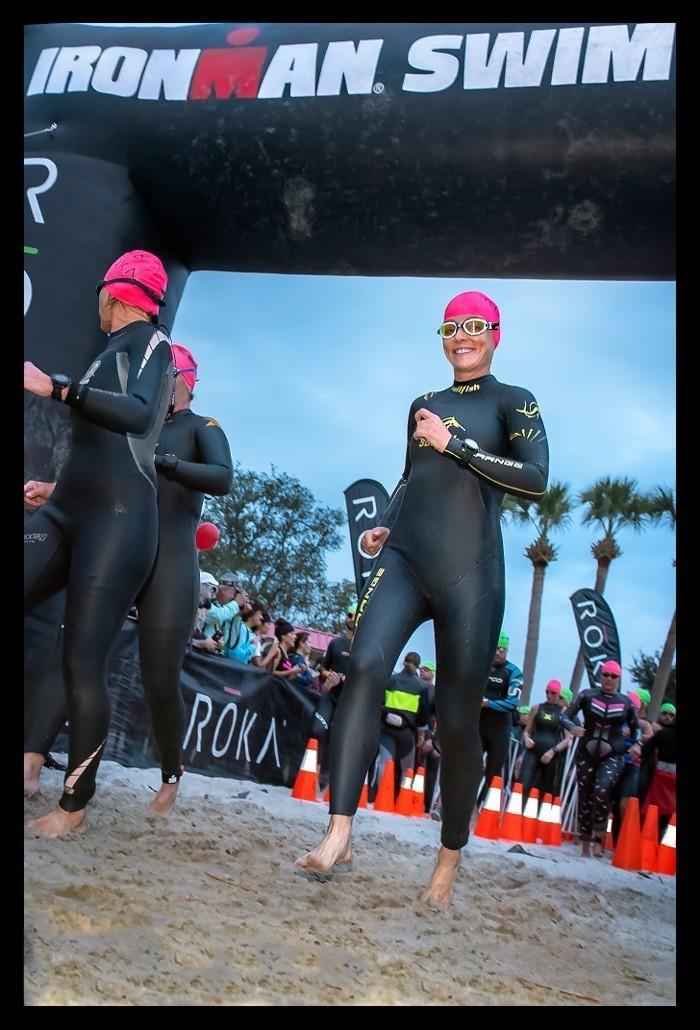 Ironman Florida 2018 Swim Start
