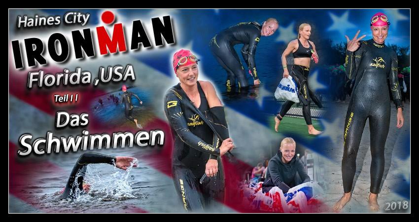 Ironman Florida 2018 Schwimmen