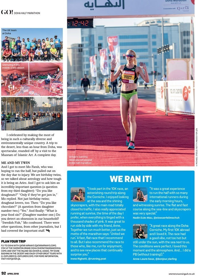 WomensRunning UK, Mai 2018