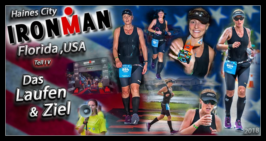 Ironman Florida Ziel Finish Banner Collage